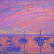 December Reverie at the Harbor