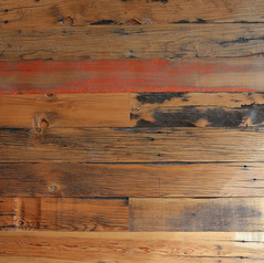 Reclaimed California Ranch Wood, hit & miss surface
