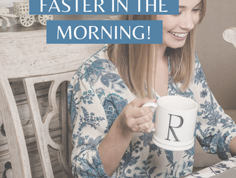 Five Easy Steps to Guarantee a Successful Morning Routine
