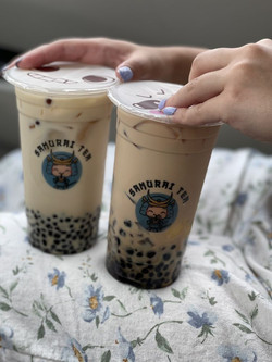 Samurai family milk tea