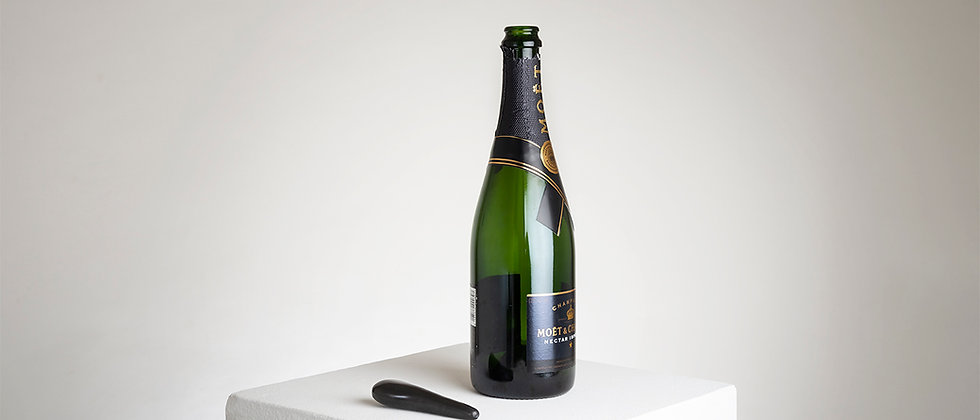 CHAMPAGNE MARBLE SPOON