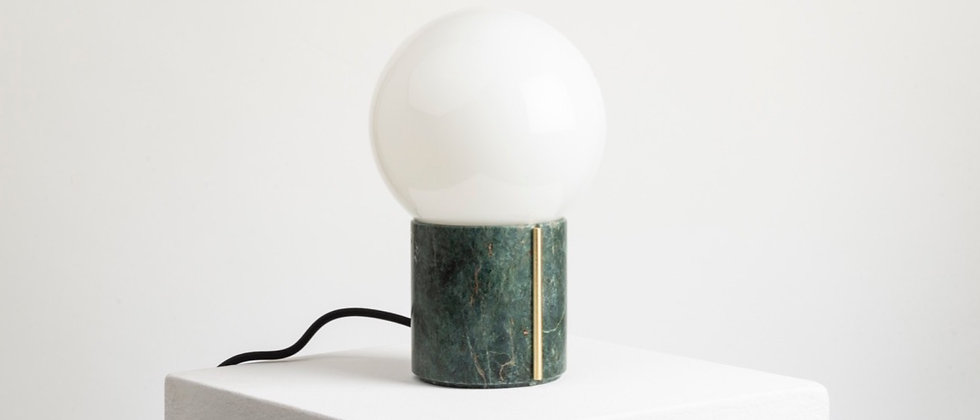 NOCTE LAMP GREEN MARBLE