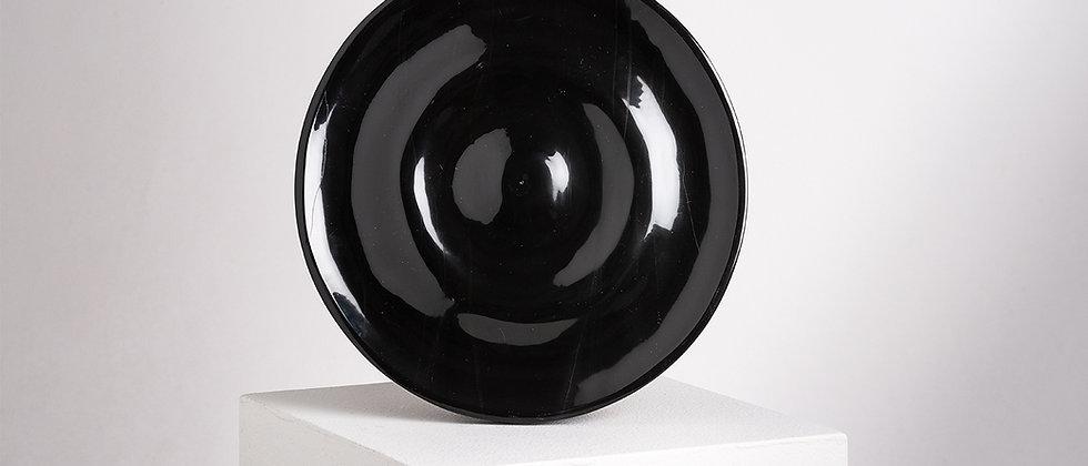 OLA BLACK MARBLE PLATE