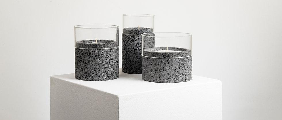 SANTUARIO STONE GLASS CANDLES