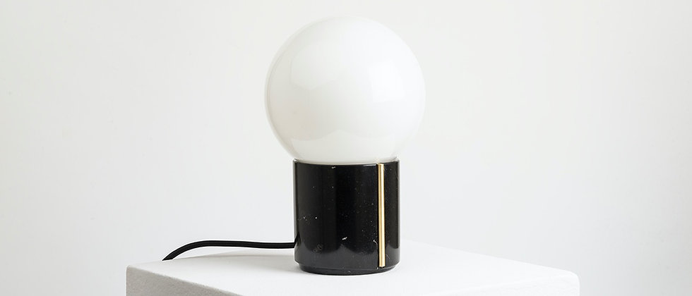 NOCTE LAMP BLACK MARBLE