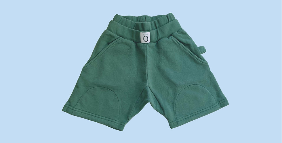 BERMUDAS Green Canvas
