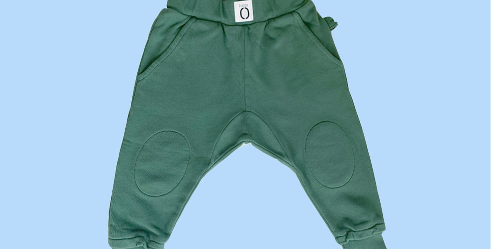 JOGGER Canvas Green