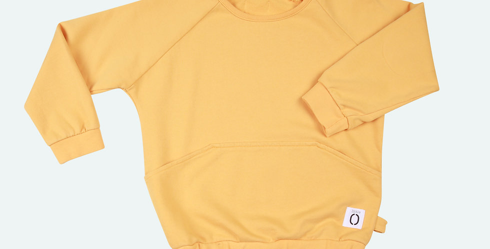 SWEATER Origami Yellow