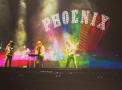フランスのバンド Phoenix !