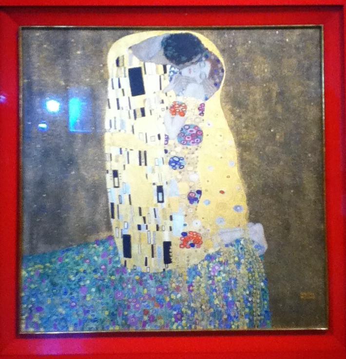 Le Baiser (1908-1909)180x180, ÖsterreiLe chische Galerie Belvedere