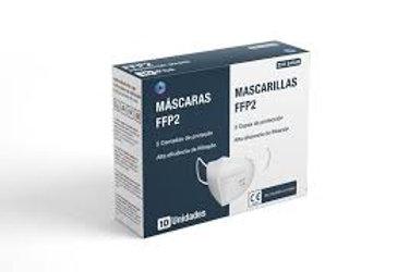 Máscaras Proteção FFP2  5 camadas (Caixa 20 Unid.)