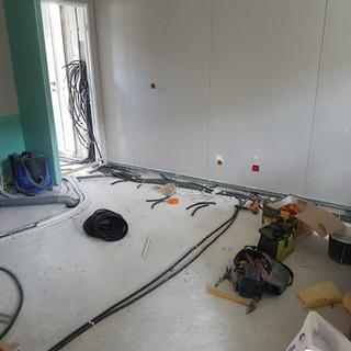 installation electrique agrandissement Bouc bel air