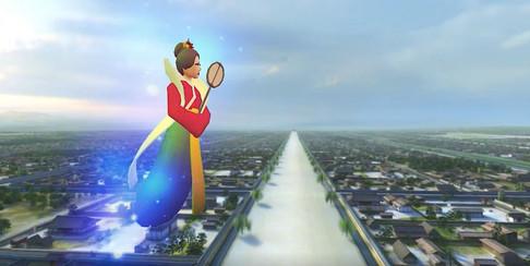 平城京VR映像画面イメージ