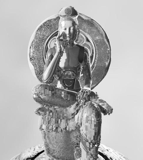 Buddha statue 3D