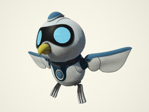 ロボットガイドキャラクター