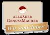 Allgäuer Genussmacher Logo Meckatzer Brauerei
