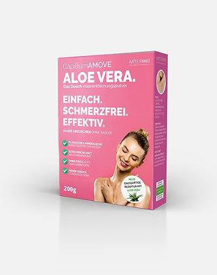 200g Capillum AMOVE Aloe Vera Enthaarungscreme als Pulver