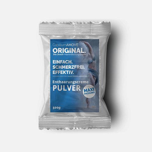 Großpackung Capillum AMOVE Original Enthaarungscreme als Pulver