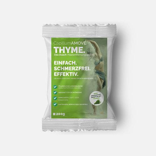 200g Capillum AMOVE Thyme Enthaarungscreme als Pulver mit Thymian