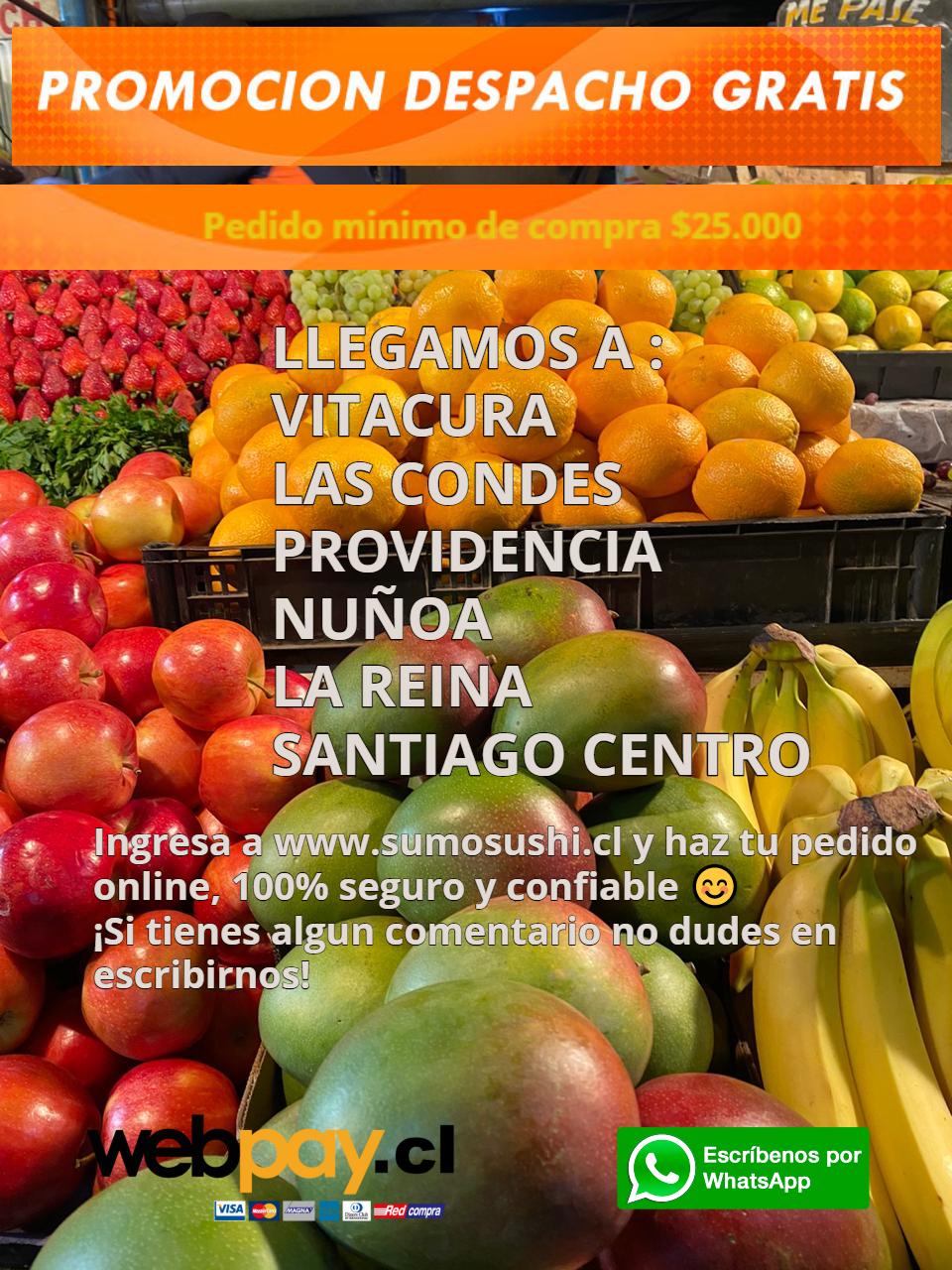 Despacho Gratis Frutas y  Verduras