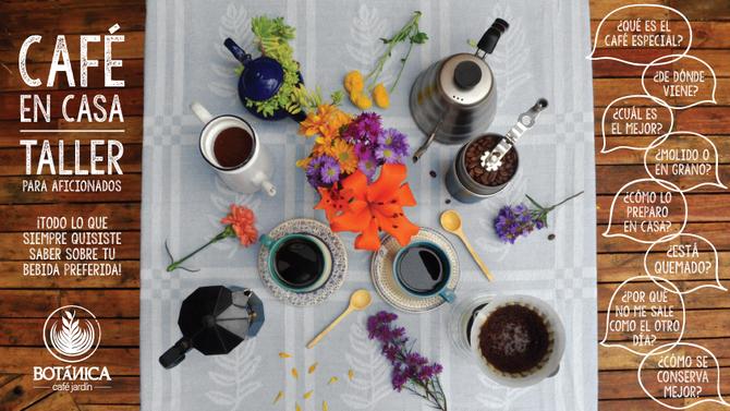 ¡Llegaron los talleres de café a Botánica!
