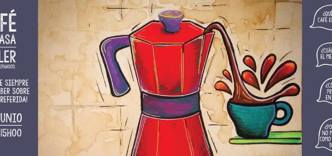 ¡Nueva fecha para Café en Casa!