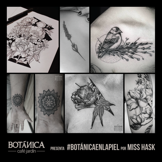 Botánica en la piel