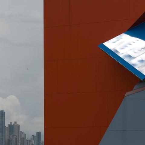 Museo de la Biodiversidad, Biomuseo. Ciudad de Panamá, Panamá (2014).  Arquitectura: Frank Gehry