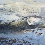 Ingleborough from Smearsett Scar, winter