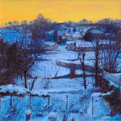 Winter afternoon, light fading