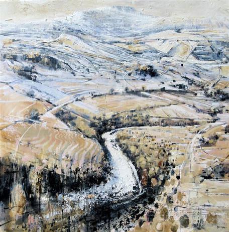Ingleborough - winter retreating