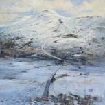 Penyghent from Smearsett Scar, winter