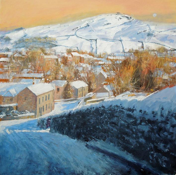 Giggleswick in the snow