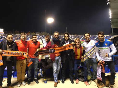 Leganés vs Valencia en Copa del Rey