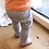 Thumbnail: Sweat-Hose mit Kordel (Stripes)