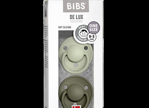 "BIBS Schnuller ""De Lux"" (Sage & Hunter Green)"