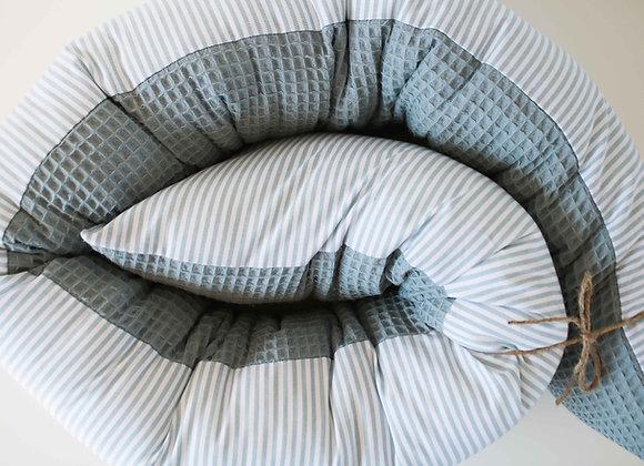 "Bettschlange ""Stripes"" (Altmint)"
