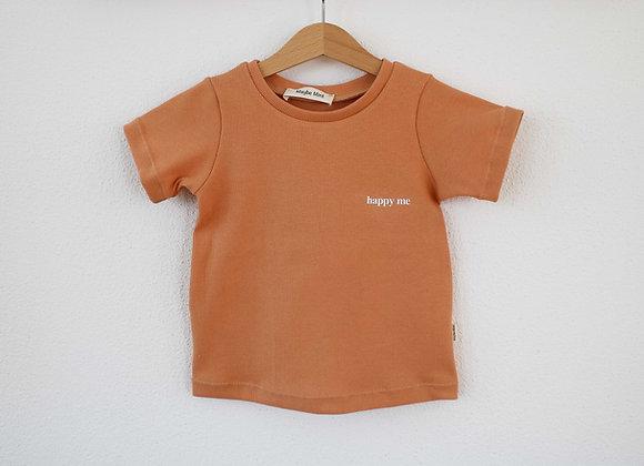 "T-Shirt ""Happy Me"" (Rost)"