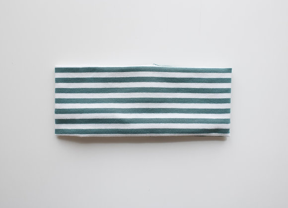 "Stirnband ""Stripes"" (Mintgrün)"