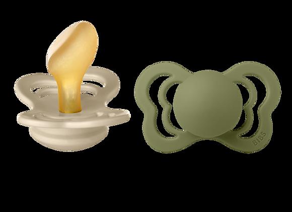 """BIBS Schnuller """"Couture"""" (Olive & Vanilla)"""