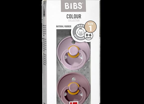 """BIBS Schnuller """"Colour"""" (Dusky Lilac & Heather)"""