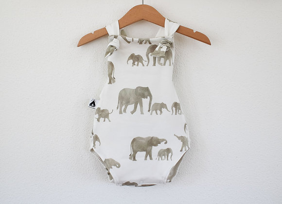 "Summer Romper ""Elefants"""