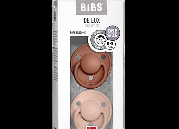 """BIBS Schnuller """"De Lux"""" (Blush & Woodchuck)"""