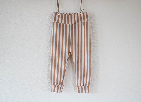 "Leggings ""Stripe"" (Sand/Creme)"