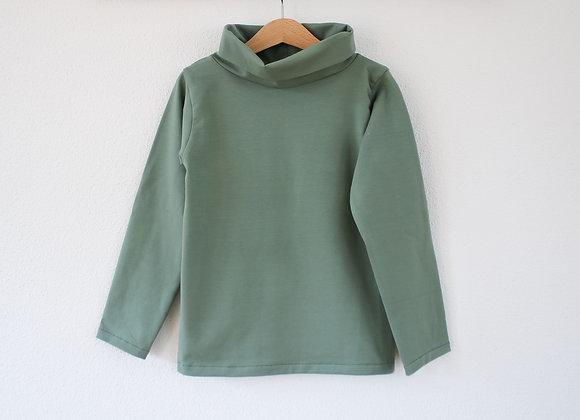 Rollkragen Sweater (Grün)