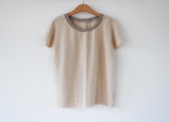 """Oversize Shirt """"Linen"""" (Beige)"""