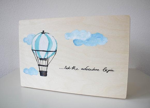 "Erinnerungskiste ""Heißluftballon"""