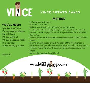 Stuffed Potato Cakes Recipe