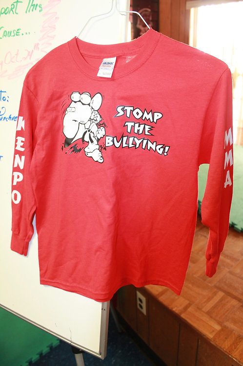 Stomp The Bullying 'Long sleeve Shirt'