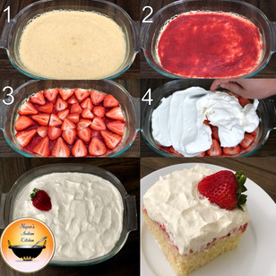 Easy Strawberry Cake using microwave oven/Strawberry Dessert Recipes/Quick eggless strawberry cake